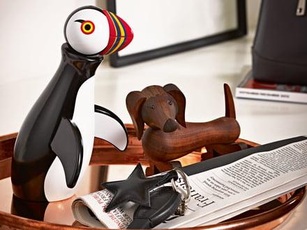 Figurines en bois de Kay Bojesen comme objets de collection