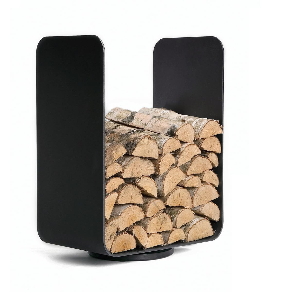 Stockage de bois u turn baest boutique - Holzaufbewahrung wohnzimmer ...