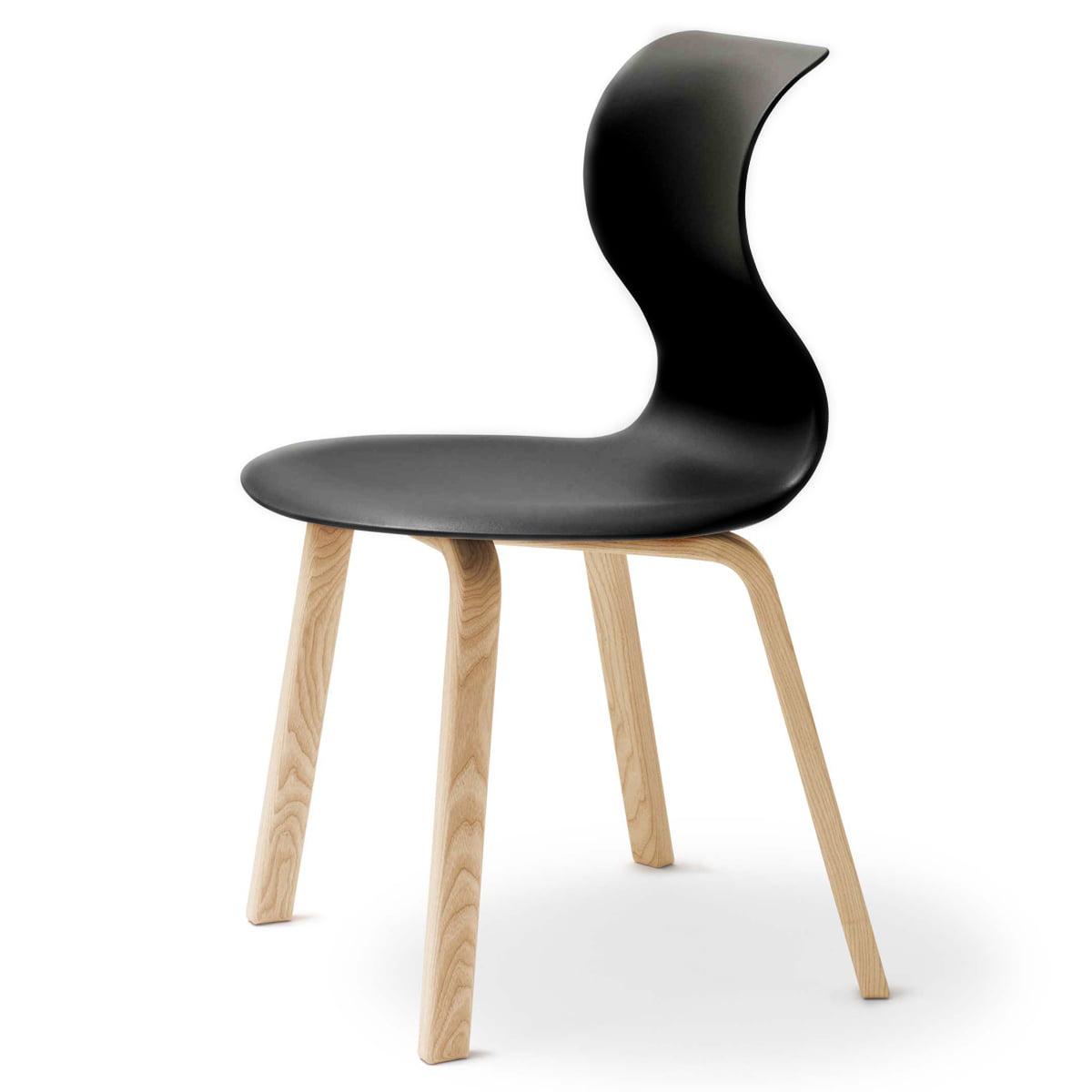 Quatre Pieds Chaises flötotto pro 6 chaise, piètement quatre pieds en bois