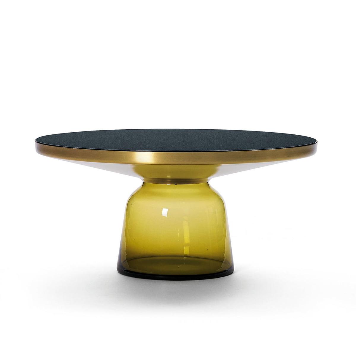 Cassicon Bell Table Basse Laiton Violet Améthyste