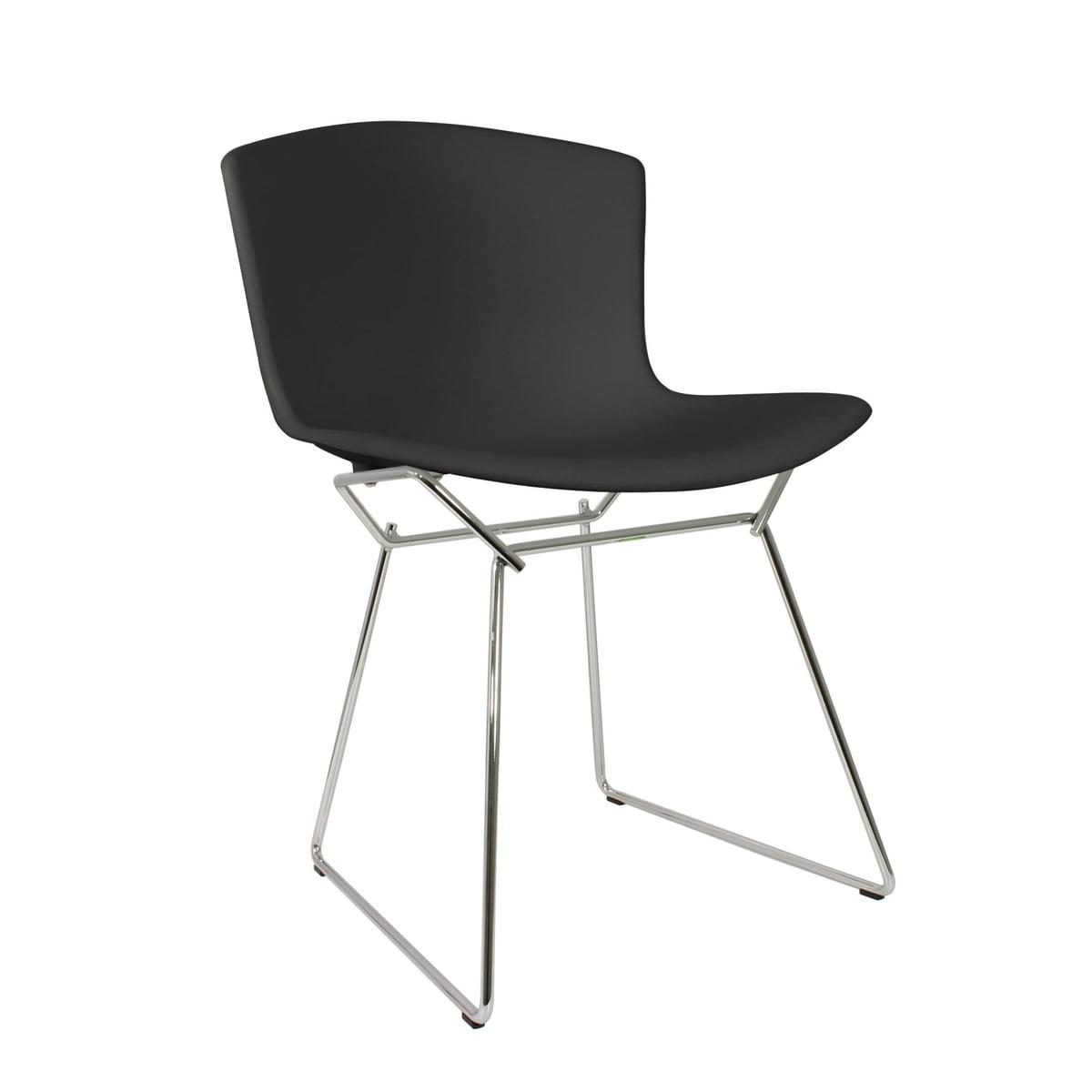 Knoll - Bertoia Chaise en matière plastique en noir  sc 1 st  Connox Vente de design du0027intérieur : bertoia chaise - Sectionals, Sofas & Couches