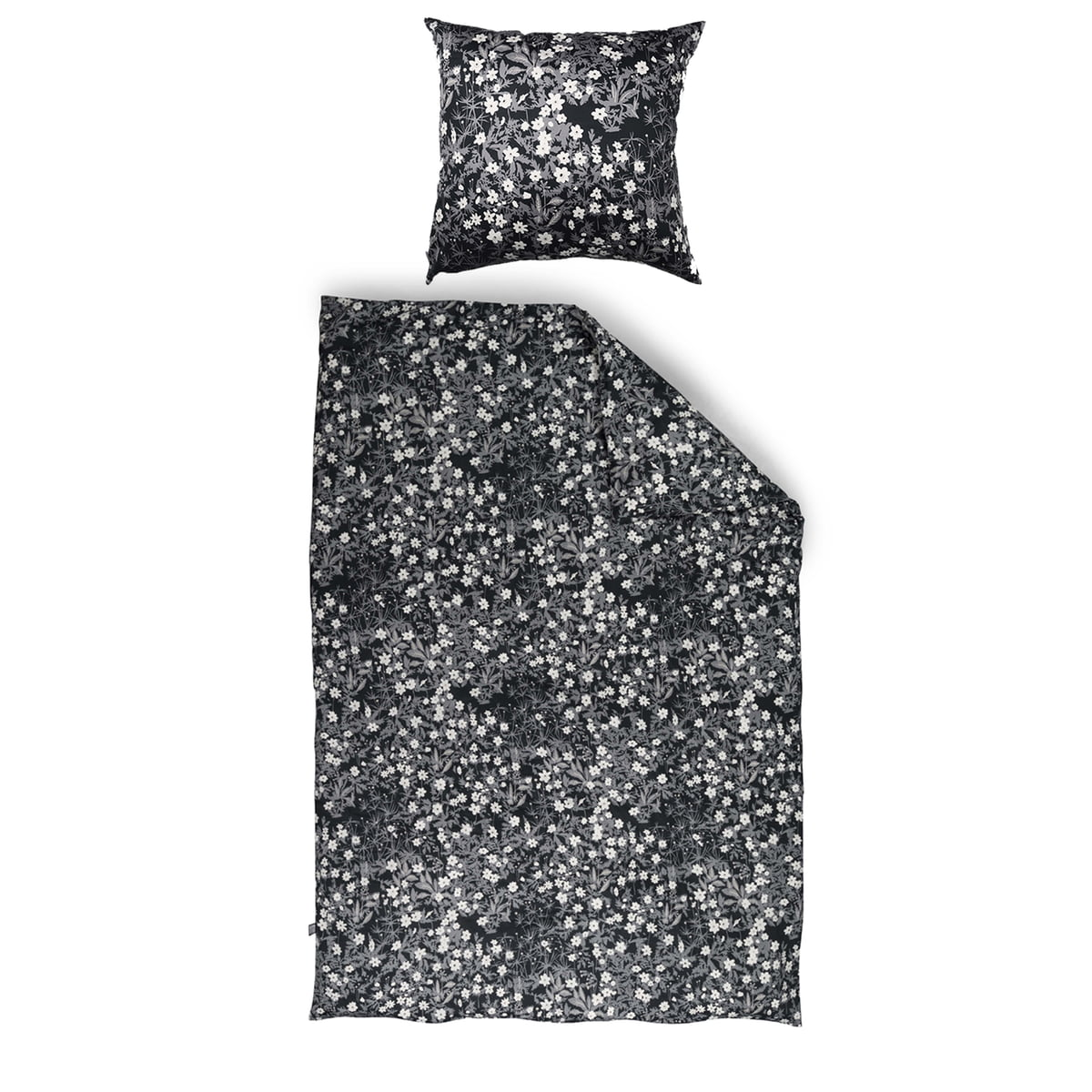 parure lit aj vintage flowers design letters. Black Bedroom Furniture Sets. Home Design Ideas