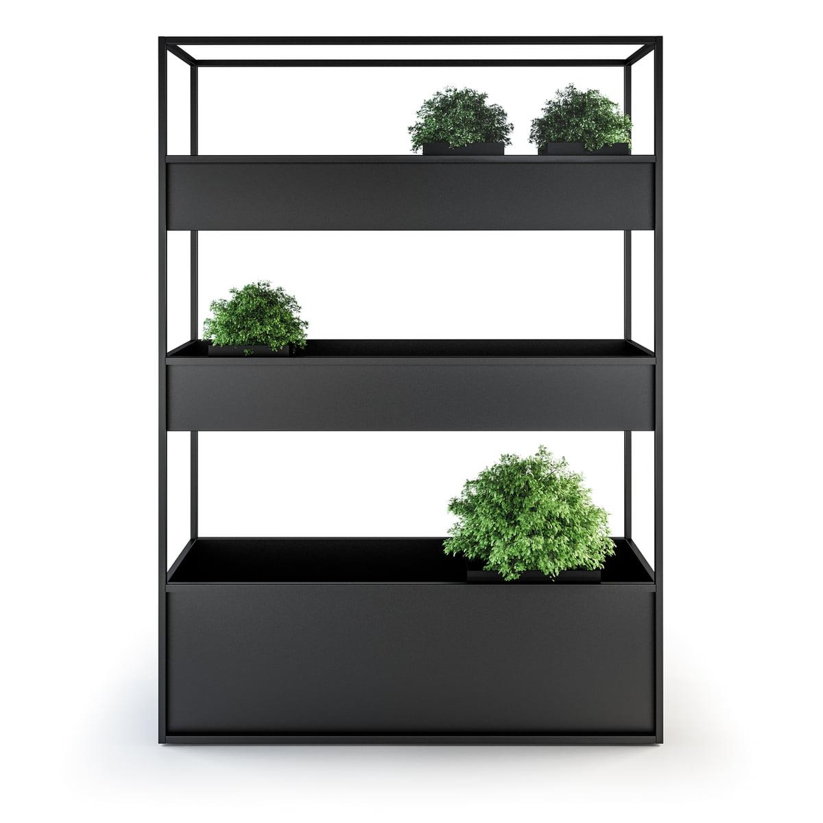 Planter Herbes Aromatiques Jardiniere röshults - jardinière en métal planter carl, 1400/3 bacs à fleurs