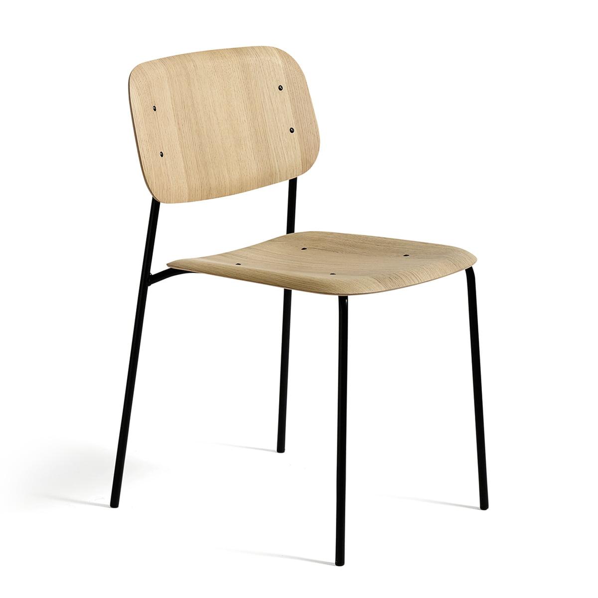Chaise 12chêne mat Soft Edge verni Hay On0wPk