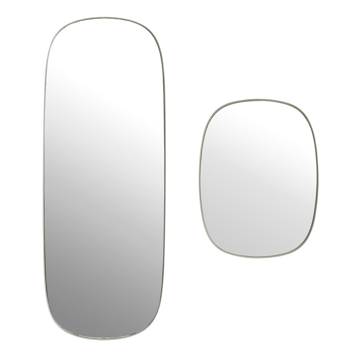 Achetez le framed miroir de muuto en ligne for Impression en miroir