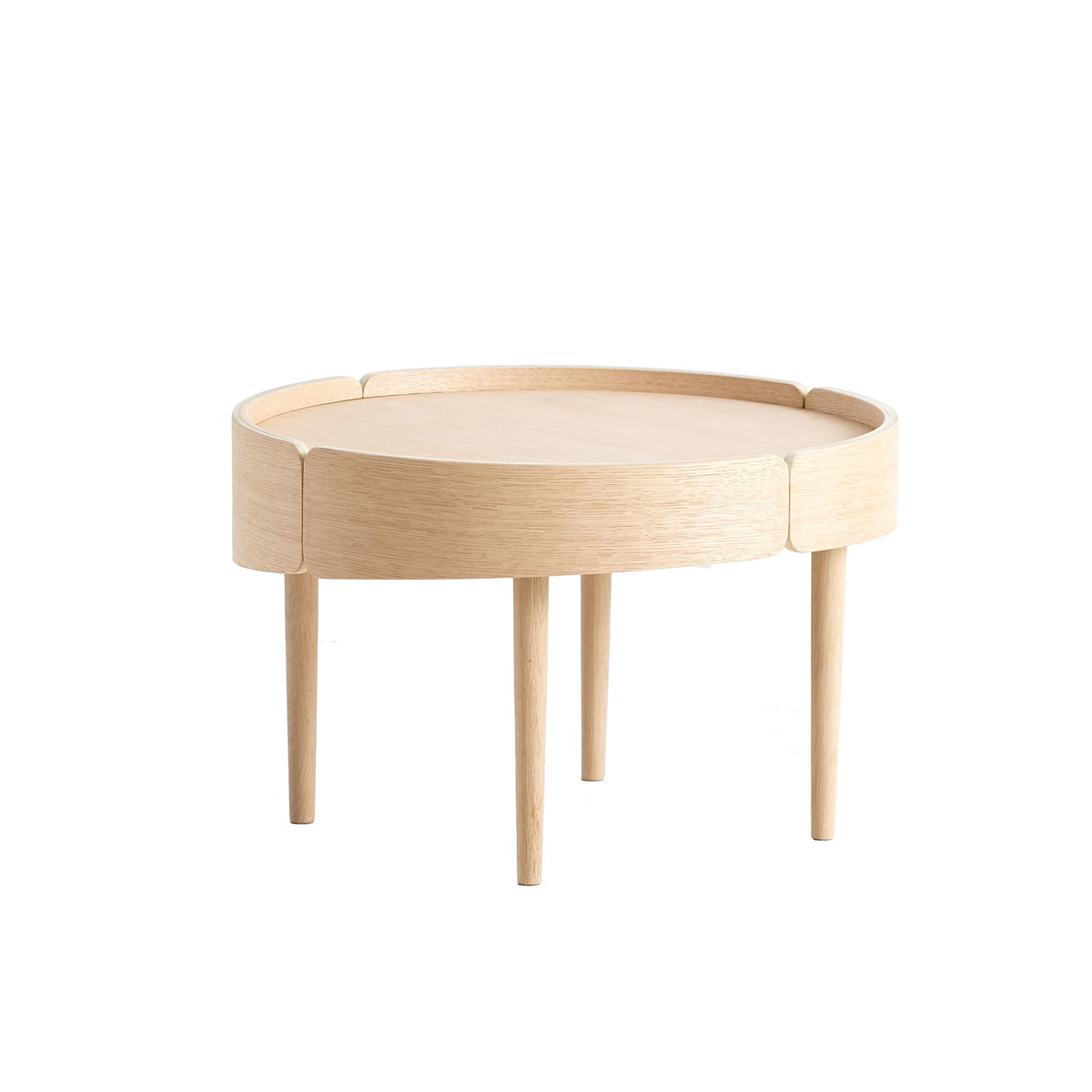 Skirt Table CmChêne Coffee 60 Ø Woud X80OwPkn