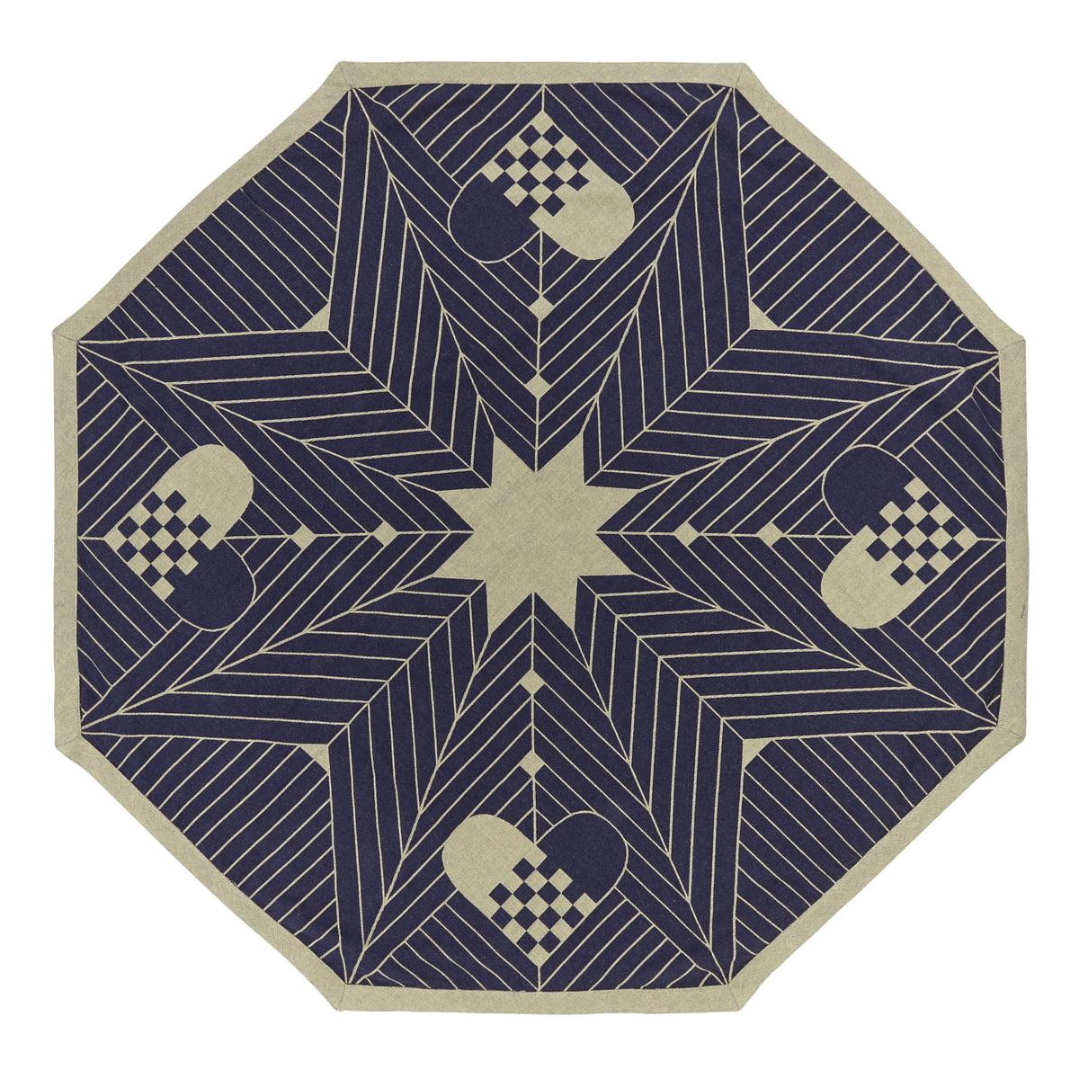 tapis sapin de no l octagon georg jensen. Black Bedroom Furniture Sets. Home Design Ideas