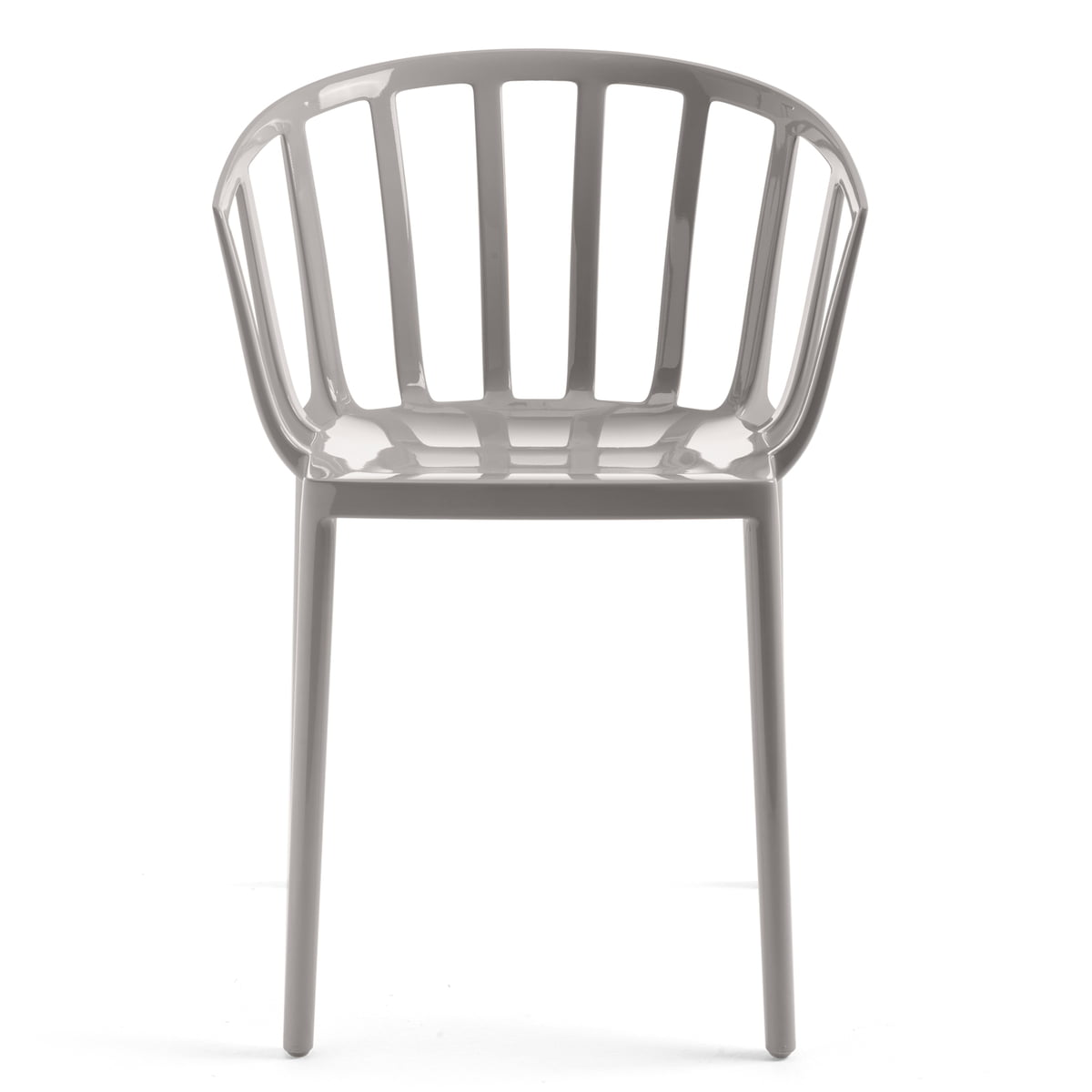 Kartell - Chaise Venise, gris