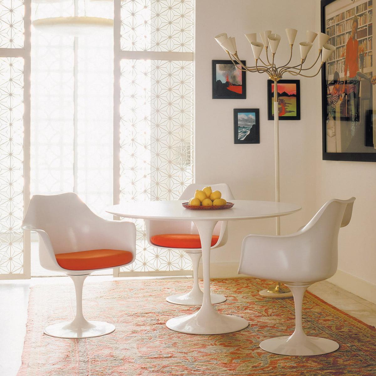 Chaise Avec Accoudoirs Tulip Saarinen