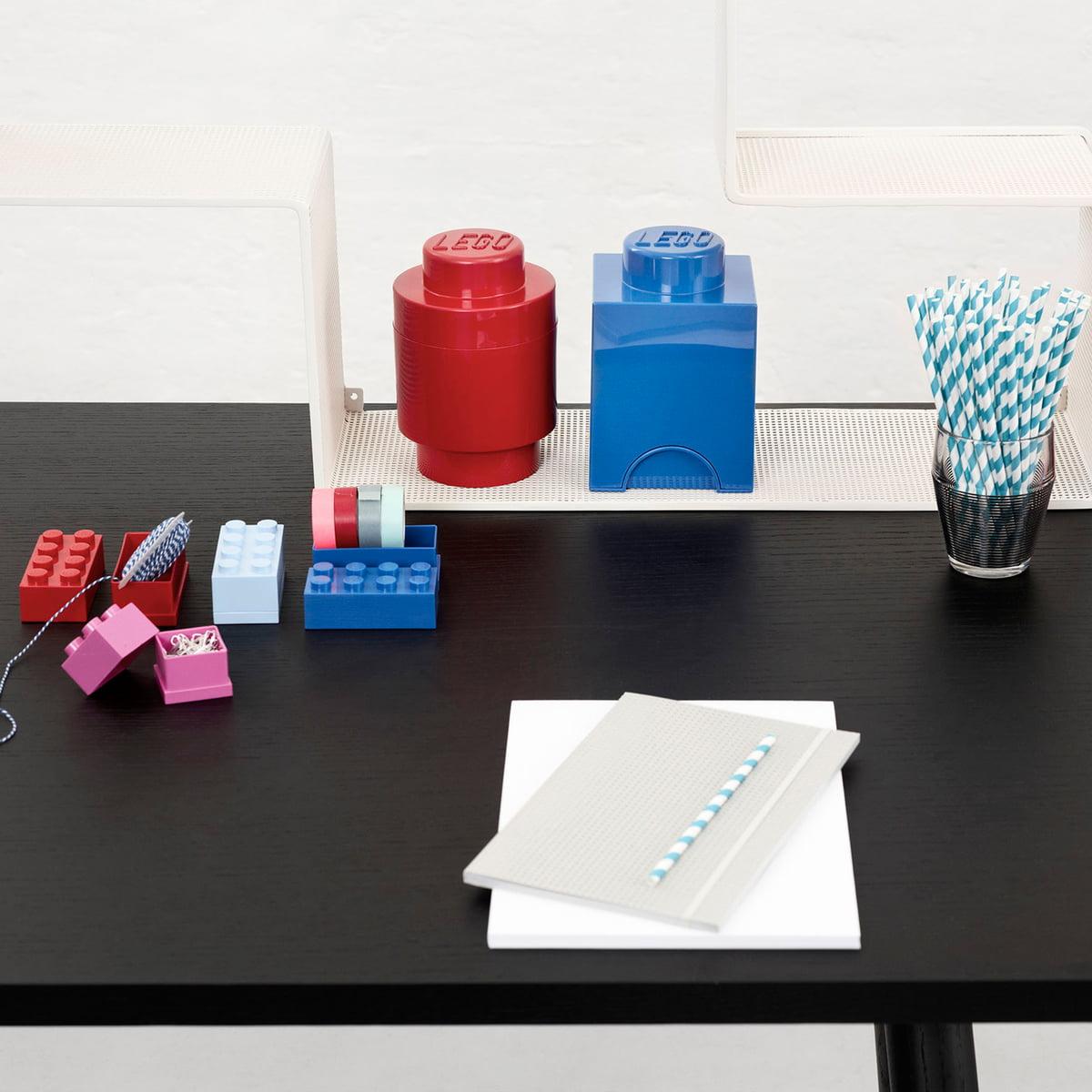 lego brique de rangement 1 ronde. Black Bedroom Furniture Sets. Home Design Ideas