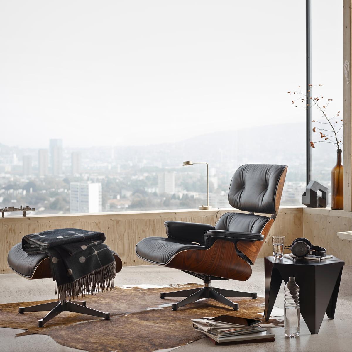 Vitra ottoman pour lounge chair dans la boutique for Boutique vitra