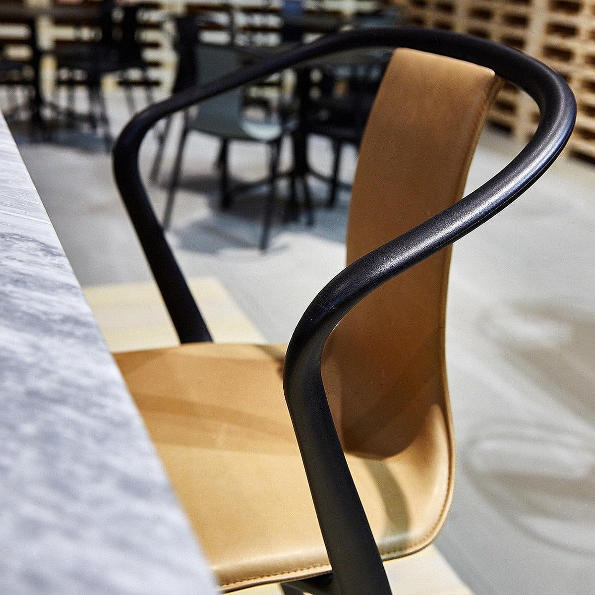 Vitra intense Bellevillenoir intense noir Chair Plastic cTK5Ful31J