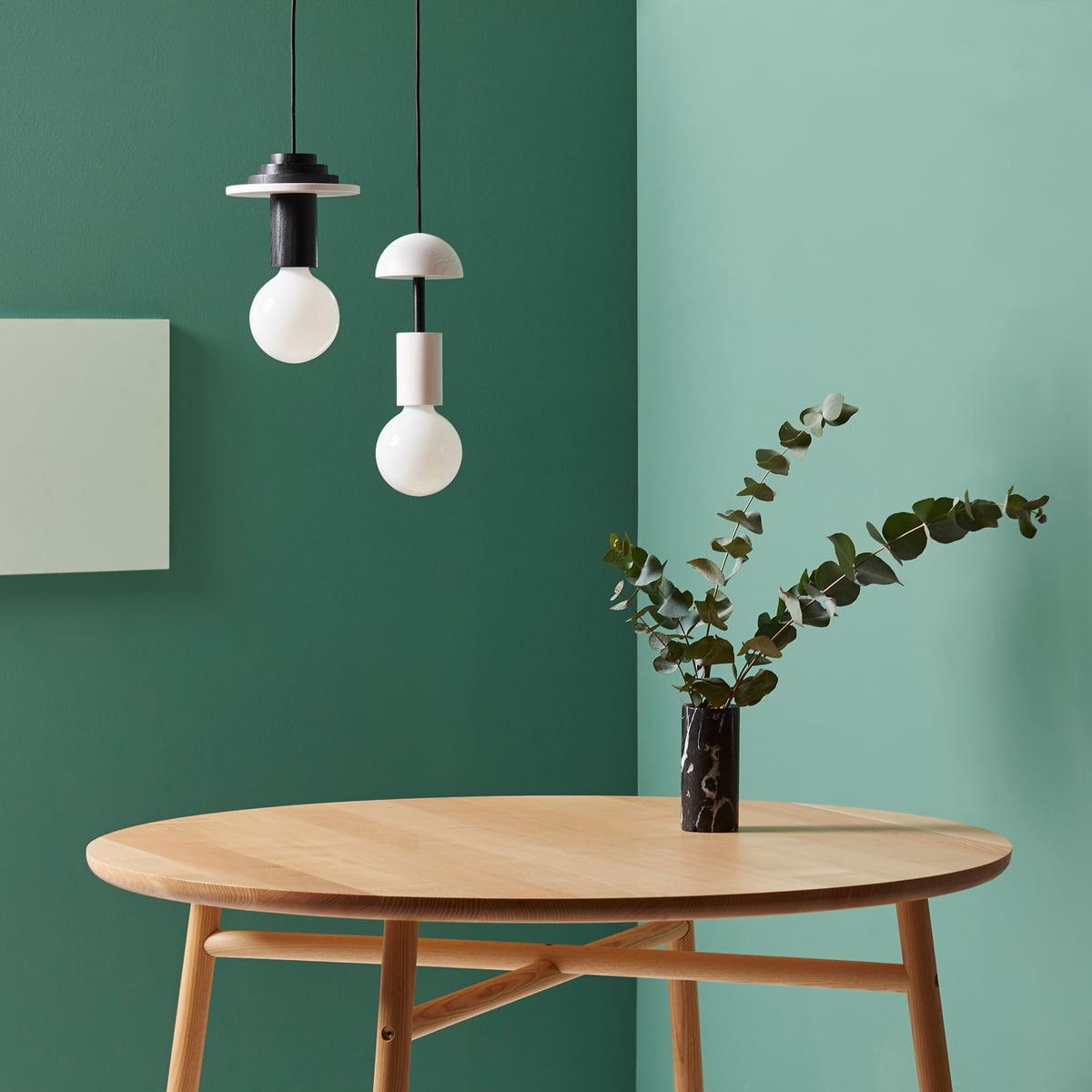 suspension lumineuse junit lamp de schneid. Black Bedroom Furniture Sets. Home Design Ideas