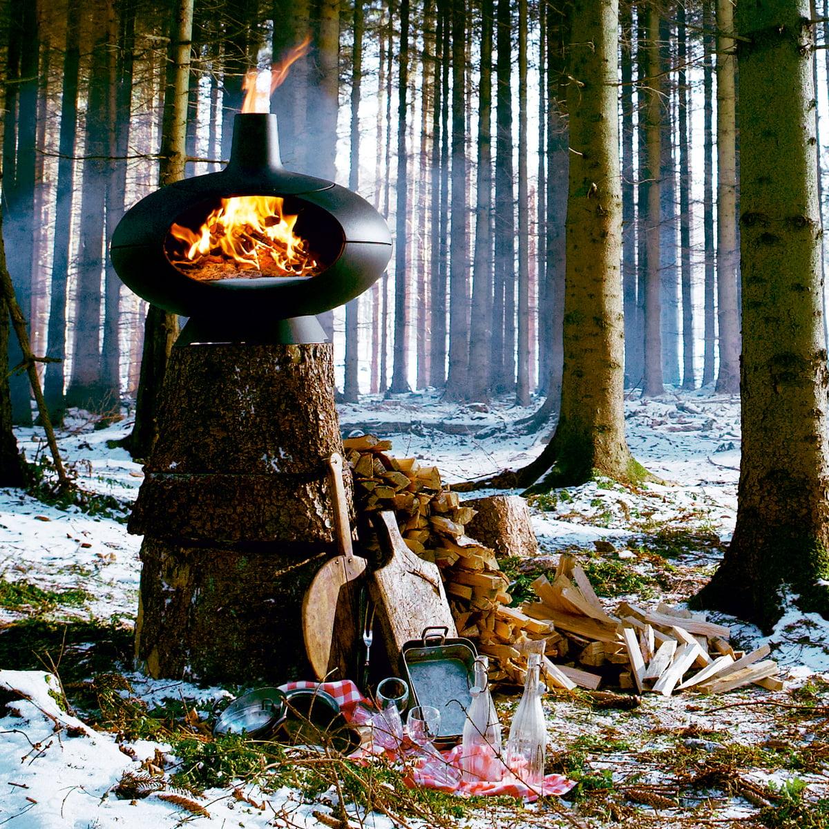 Poele A Bois Morso Avis morsø - barbecue et four forno, noir