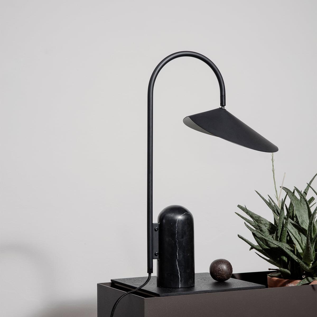 Living Lampe TableNoir Ferm De Arum NX0PnwO8k