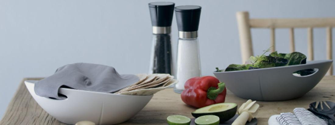 Die Rosendahl Design sind bekannt für ihre Weinaccessoires, Uhren, Gläser und Porzellan-Produkte. Die Gewürzmühlen aus der Grand Cru Kollektion sind eine der beliebtesten Design-Artikel.