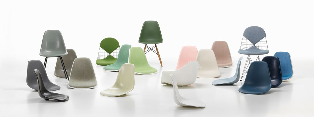 Vitra - Eames Plastic Chairs Collection - Bannière