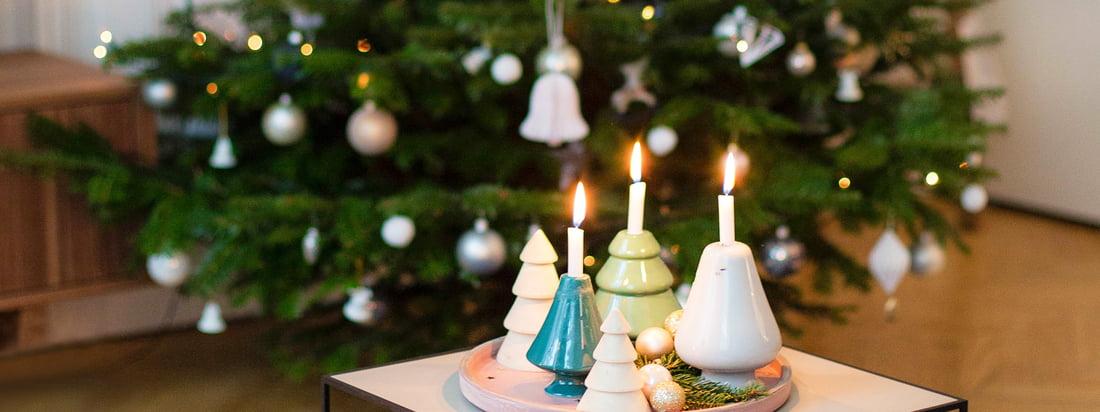 Themen-Banner: Weihnachtsbaum-Trends 2017