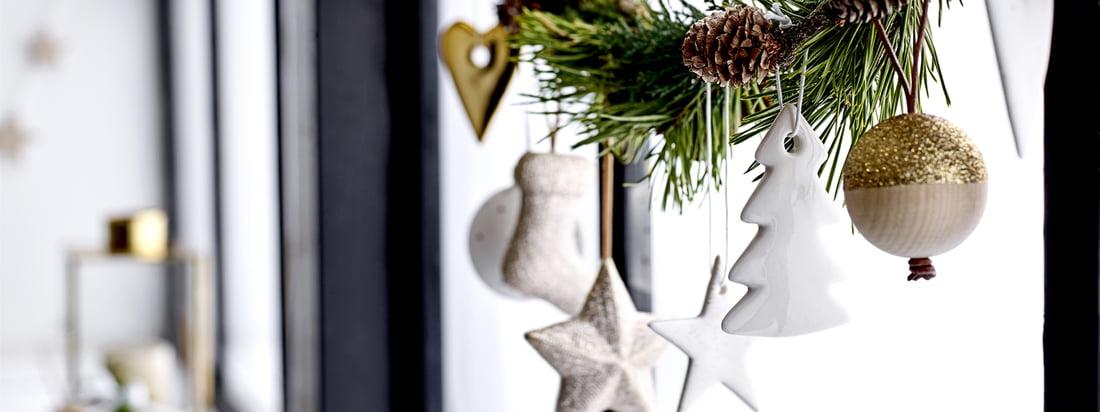 Bloomingville - Bannière de Noël 3840 x 1440