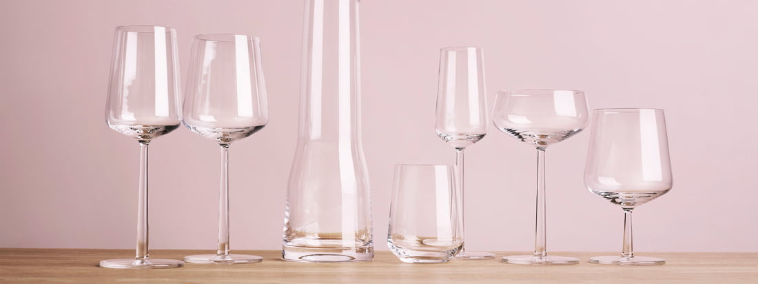 Iittala - Bannière de la collection Essence