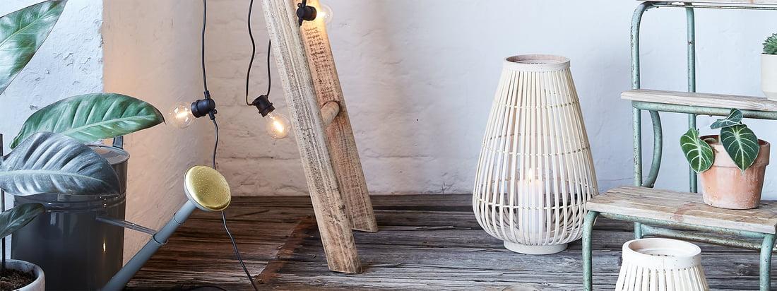 Ambiance extérieure - Lanternes Connox Collection