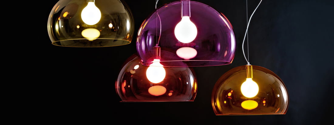 Kartell - FLY Collection de luminaires