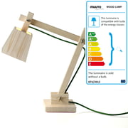 Muuto - Wood Lamp Lampe de table