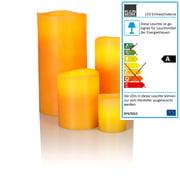 Klein & More - Bougie en cire véritable à LED