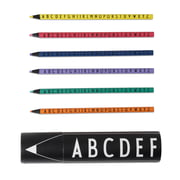 Design Letters - Lot de crayons de couleur AJ