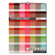 Remember - Calendrier poster 2017