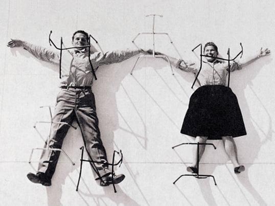 Charles & Ray Eames - Image thématique des couples de designers