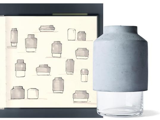 Menu - Willmann Vase - Design Interview - Collage