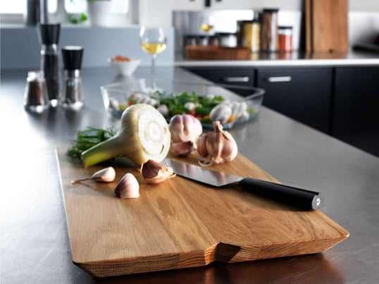 Grand Cru Bamboo Chopping Board with Juice Rim by Rosendahl