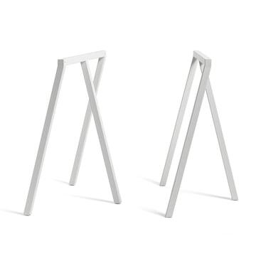 Hay - Tréteaux Loop Stand Frame, blancs (2 pièces)