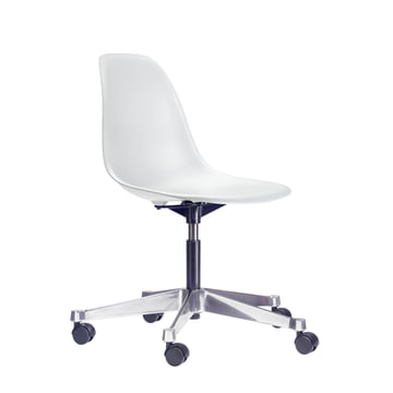 Vitra - Eames Plastic Side Chair PSCC, blanc