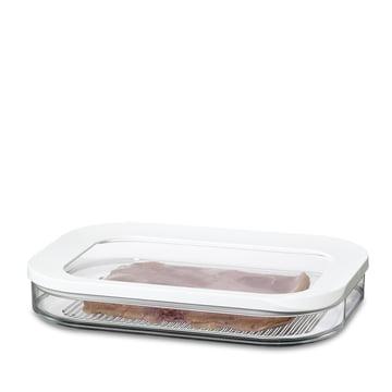 Rosti Mepal - Modula Boîte de conservation pour le réfrigérateur, tranches 550/1 - blanc