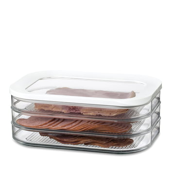 Rosti Mepal - Modula boîte à viande pour réfrigérateur, 550/1, blanc