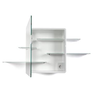 Authentics - Armoire à miroir Kali en blanc