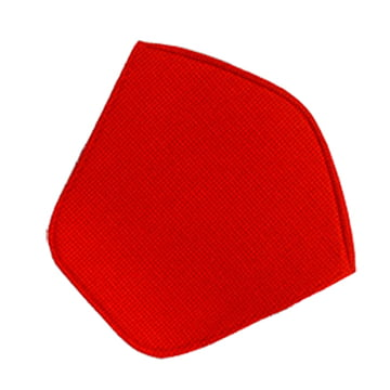Knoll - Coussin d'assise pour fauteuil Bertoia Diamond - Hopsack, rouge