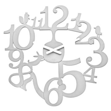 Koziol - Horloge murale [pi:p], blanc