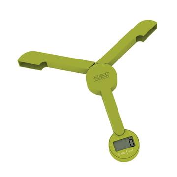 Joseph Joseph - Balance pliable TriScale, vert - ouvert