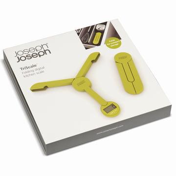 Joseph Joseph - Balance pliable TriScale, vert - emballage