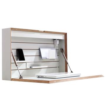 Müller Möbelwerkstätten - Flatbox, blanc - ouvert, déco, côté
