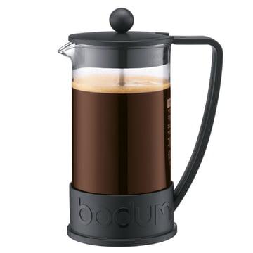 Bodum - Cafetière à piston Brazil, 1,0 l, noire