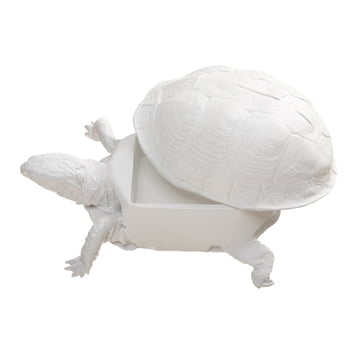areaware - Turtle Box, blanc - ouvert
