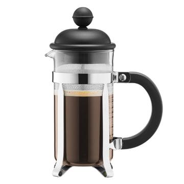 Bodum - Cafetière à piston Caffettiera, 1 l, noire