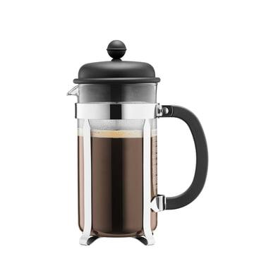 Bodum - Cafetière à piston Caffettiera, 0,35 l, noire