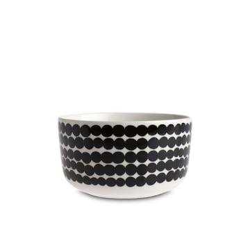 Marimekko - Bol Oiva Räsymatto, 500 ml, blanc / noir