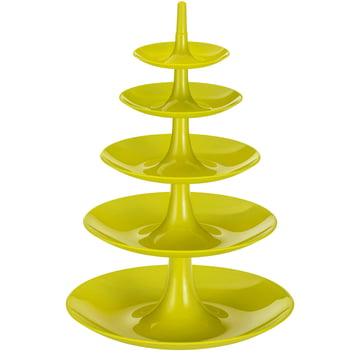 Koziol - Étagère Babell Big, vert moutarde