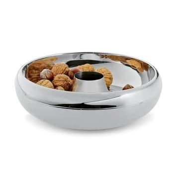 Philippi - Coupe à noix avec dépôt pour coquilles Cascara - avec des noix